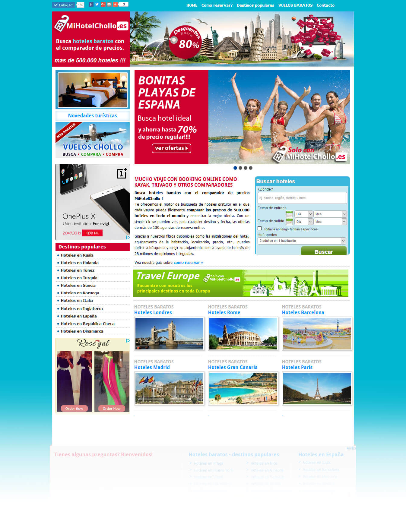 Hotel booking<div style='clear:both;width:100%;height:0px;'></div><span class='cat'>Joomla, Strony Turystyczne</span>